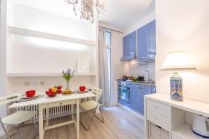 Küche/Küchenzeile in der Unterkunft Piccola Grecia 4