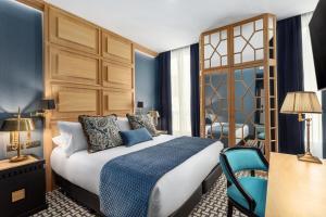 Cama o camas de una habitación en Room Mate Alba