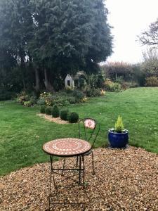 A garden outside Meadow Thatch