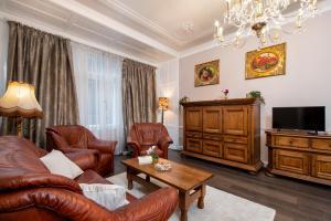 Area soggiorno di Classy Old Town Suite #41