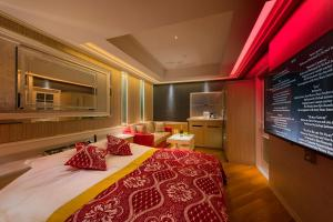 A bed or beds in a room at HOTEL W-AVANZA-W GROUP HOTELS and RESORTS-