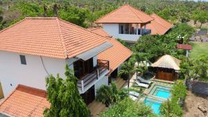 A bird's-eye view of Ocean Villa Dive Resort - Tulamben
