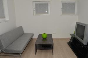 Ein Sitzbereich in der Unterkunft Apartment in Reutlingen / Sickenhausen