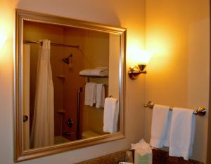 A bathroom at Holiday Inn Express Hotel & Suites Tucson