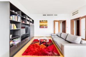 Posezení v ubytování Rezidence Kavci Hory