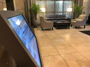 The lobby or reception area at Landis Hotel & Suites
