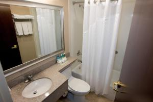 A bathroom at Holiday Inn Express Kennedy Airport