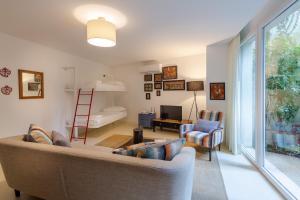 Zona de estar de My Suite Lisbon Guest House – Principe Real