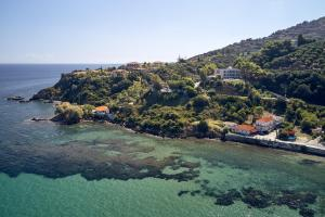 A bird's-eye view of Ionian Hill Hotel