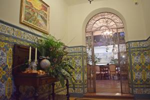 A restaurant or other place to eat at Hotel Rural La Vida de Antes