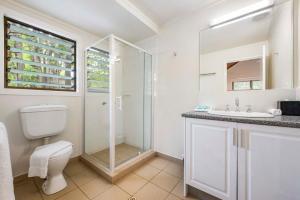 A bathroom at Heron Island