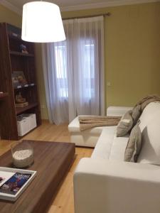 Zona de estar de Martin Gamero Apartments