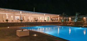 The swimming pool at or near Yiannaki Hotel