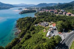 A bird's-eye view of Bungalows Portuondo