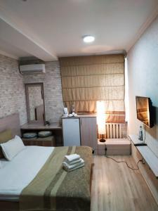 Cama o camas de una habitación en Ocean Hotel