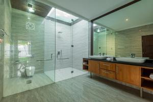 A bathroom at The Christina Estate