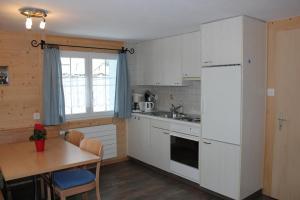 Küche/Küchenzeile in der Unterkunft Chalet Good