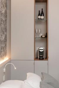 A bathroom at MiHotel Bizolon