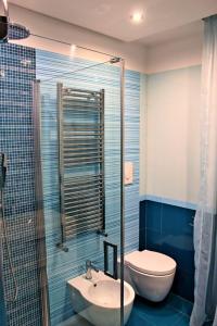A bathroom at Donna Teresa
