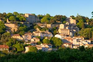 A bird's-eye view of Château la Roque Provence