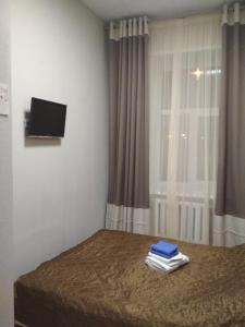Телевизор и/или развлекательный центр в Hostel 24х7