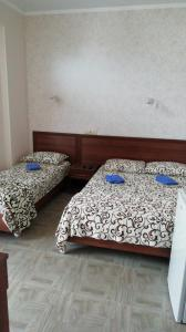 A bed or beds in a room at Гостевой дом Александра - Мерцана