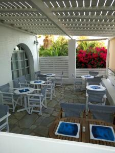 A restaurant or other place to eat at Despina's Mare