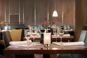 A restaurant or other place to eat at Dorint An der Kongresshalle Augsburg