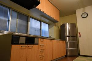 温泉宿はまゆう凪にあるキッチンまたは簡易キッチン