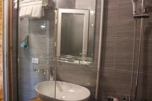 Salle de bains dans l'établissement Mai Chau Countryside Homestay