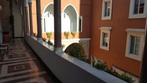 A balcony or terrace at Azur Suites Hotel & Apartments