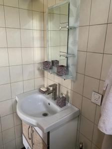 Um banheiro em Hope Lake