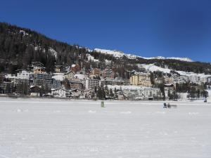 Moritz Flat during the winter