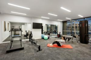 The fitness center and/or fitness facilities at Quest Goulburn