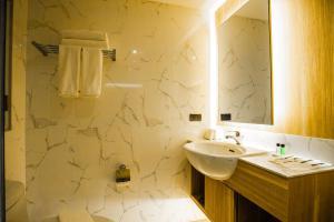 A bathroom at Days Inn by Wyndham Aonang Krabi