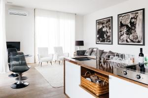 Una cocina o zona de cocina en Riva Lofts Florence