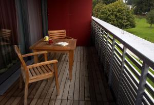 Ein Balkon oder eine Terrasse in der Unterkunft Senevita Residenz & Apartments Muri bei Bern