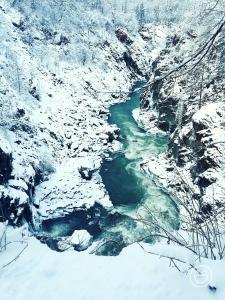Domik v Derevne зимой