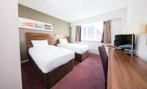 A television and/or entertainment center at Jurys Inn Cork