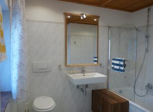 Ein Badezimmer in der Unterkunft Ferienwohnungen Doktorwirt