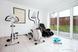 The fitness centre and/or fitness facilities at Résidence Dolce Vita