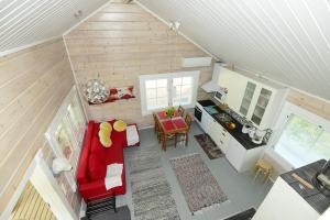 Majoituspaikan Pikku Torppa Cottage keittiö tai keittotila