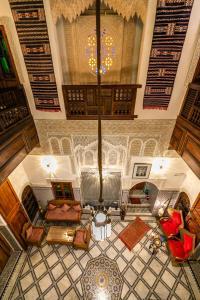 Hall ou réception de l'établissement Dar Borj