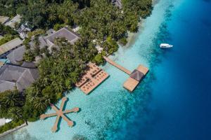Fihalhohi Island Resort с высоты птичьего полета