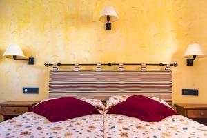 Letto o letti in una camera di Apartamentos Mar y Sal