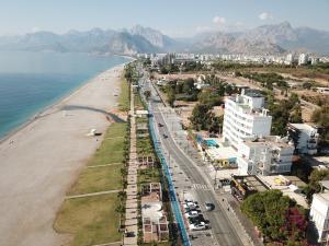 A bird's-eye view of Acropol Beach Hotel