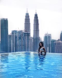 The swimming pool at or near Expressionz KLCC by Wodages