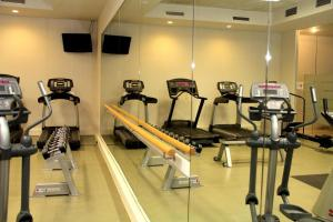 The fitness center and/or fitness facilities at Hyllit Hotel