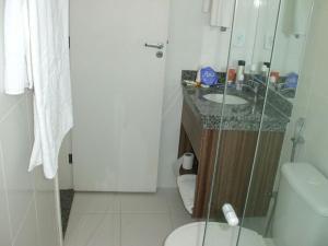A bathroom at Apartamento Diroma Lacqua 3