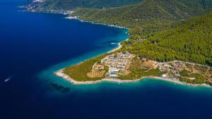 A bird's-eye view of Adrina Beach Hotel
